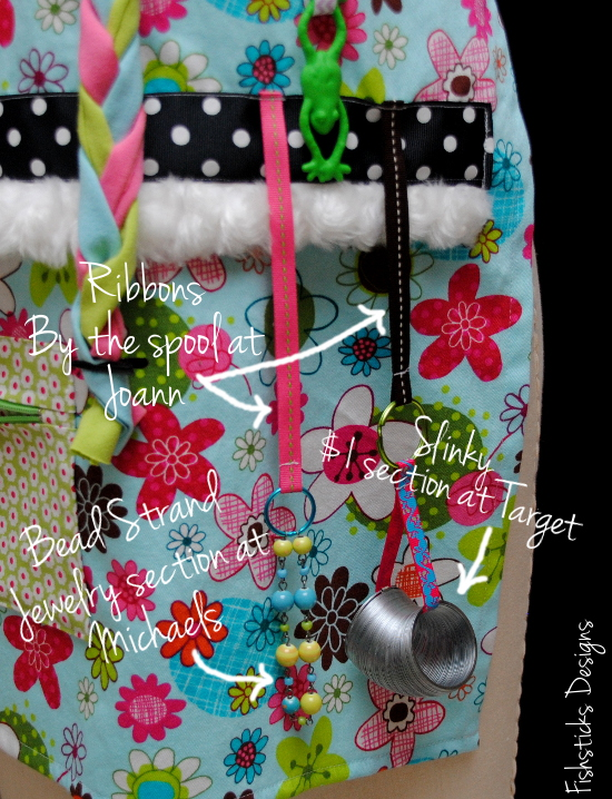 Youll Need Plenty Of Ribbon To Attach Your Fidget Items Small Pieces From Stash Are A Great Choice Or Check Out Michaels Joann Hobby Lobby For