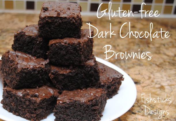 Real Food Gluten-free Dark Chocolate Brownies &the IJ Pattern Winner ...