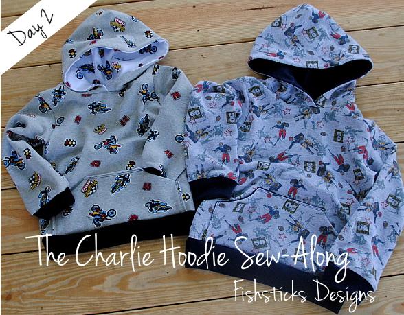THE CHARLIE HOODIE SEW-ALONG