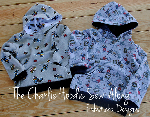 The Charlie Hoodie Sew-Along Day 1