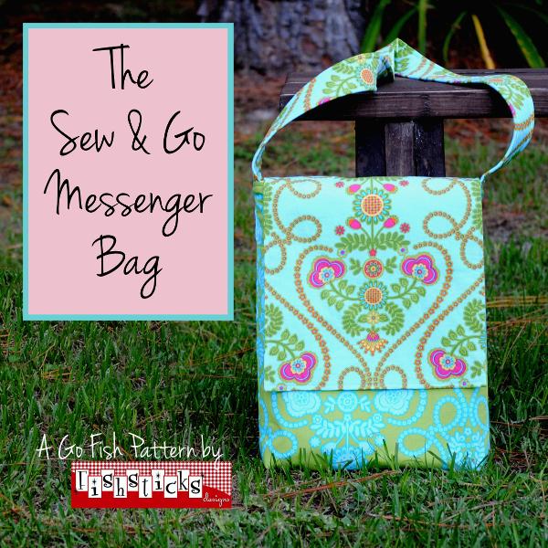Go Fish | Fishsticks Designs Blog : quilted messenger bag pattern - Adamdwight.com