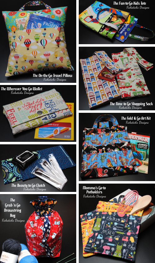 Quick Handmade Gift Ideas Using Go Fish Patterns