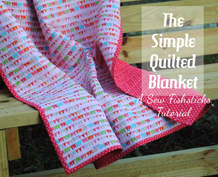 The Simple Quilted Blanket ~ A Tutorial : blanket quilt - Adamdwight.com