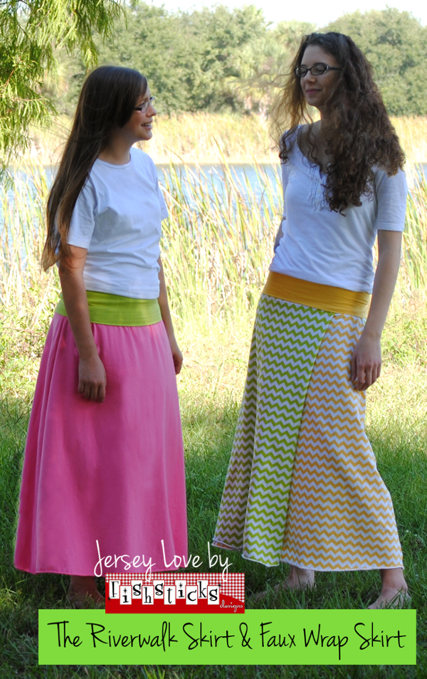 The Riverwalk Skirt & Faux Wrap Skirt Preteen/Teen Sizes ...